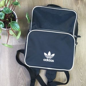 Adidas Black Nylon Backpack